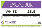 Excalibur 25lb. White