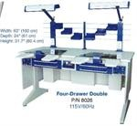 Dual Station Laboratory Bench