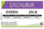 Excalibur 25lb. Green