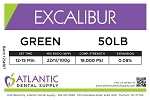 Excalibur 50lb. Green