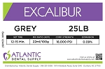 Excalibur 25lb. Grey