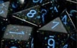 Chessex Polyhedral Blue Stars 7 Die Set