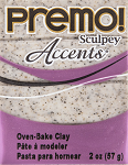 Sculpey Premo Gray Granite