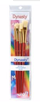 Dynasty Brushes White Bristle Flat